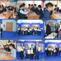 Information  about conducting personal-team Chess Championship  among the schools of the city dedicated to the celebration Day of the First President