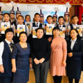 Reading contest dedicated to the 110th anniversary of Abdilda Tazhibaev...