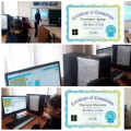"An informative hour ""Code Hour in Kazakhstan - 2019"" was held with students in grades 3-4 ..."