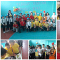 Among the students of grades 3-4, the sports and intellectual competition
