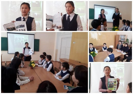 There was a presentation of the next issue of the eco-magazine ...